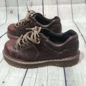 Dr. Martens 8312 Brown Grizzly Leather Shoes 7 US